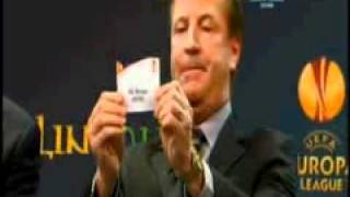 2011 Dublin UEFA Europa League Quarter Final and Semi Final Draw