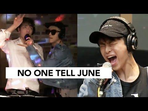 Adlib King Junhoe + Member Reactions   iKON