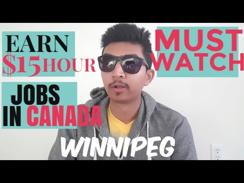 HOW TO FIND A PART TIME JOB IN CANADA (WINNIPEG) | INDIANS IN CANADA