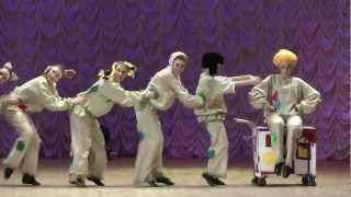 Ансамбль танца РАДОСТЬ, г.Мурманск, танец