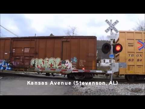 Railroad Crossings of the CSX Chattanooga Sub Part 1
