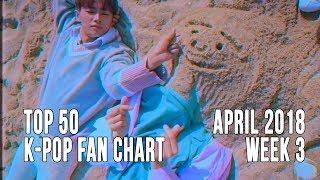 Top 50 K-Pop Songs Chart - April 2018 Week 3 Fan Chart (Reupload)