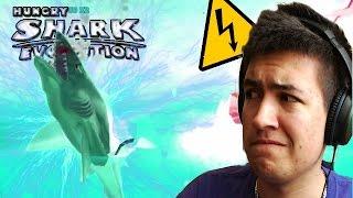 Hungry Shark Evolution - ELECTRIC SPECIAL SHARK BOSS! - New Shark Gameplay