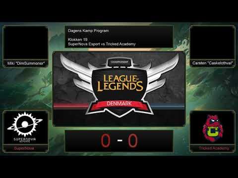 League Championship Denmark - SuperNova eSports VS Tricked Academy