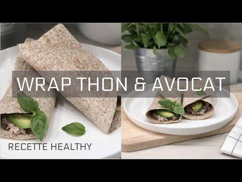 recette-healthy-santÉ---wrap-thon-&-avocat