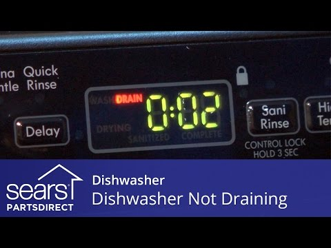 Dishwasher Won't Drain? All the Easy Fixes You Need to Know - Sears