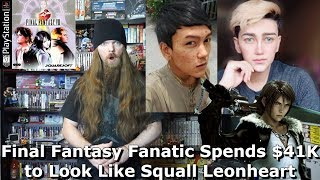 Final Fantasy Fanatic Spends $41K on Surgery to Look Like Squall Leonheart - AlphaOmegaSin