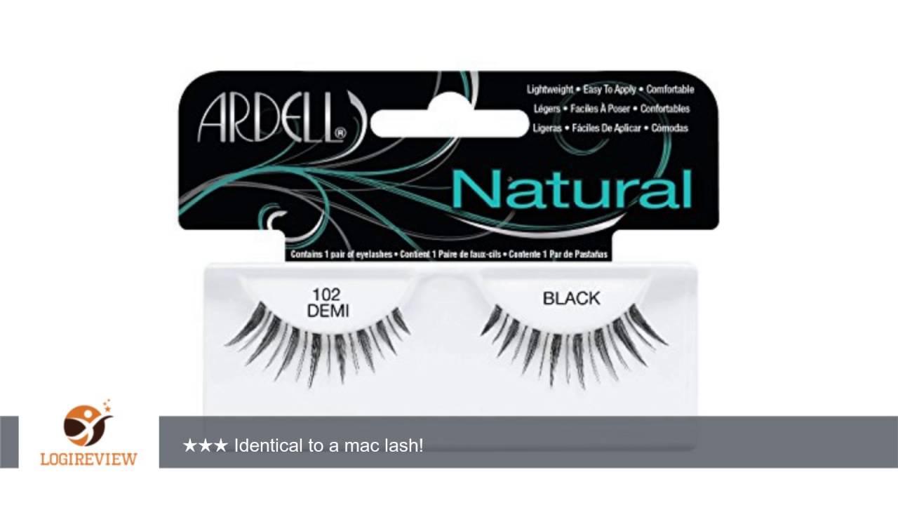 f3e868b973b Ardell Fashion Lashes - 102 Demi Black (Quantity of 5)   Review/Test ...