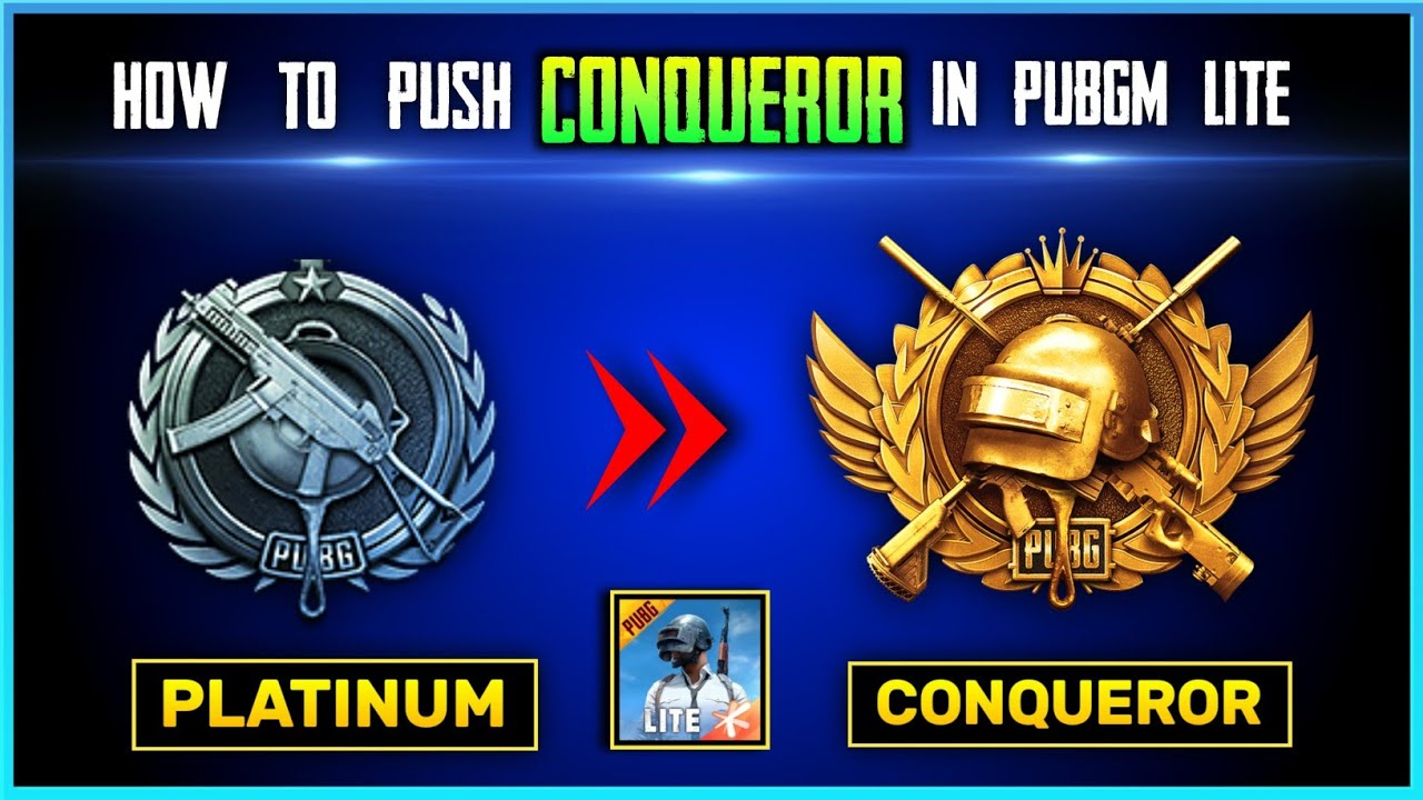 How To Push Conqueror in PUBG Mobile lite | Top Tips and Tricks | Pubg lite New Season 7 | Part - 1
