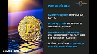 Bitcoin presentation 2017 Usi-Tech France nouveau produit de Soft-trading
