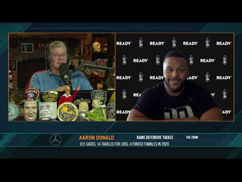 Aaron Donald discusses the Rams trading Jared Goff and picks for Matthew Stafford   02/04/21