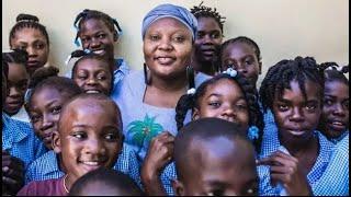 Child Rights Hero Guylande Mésadieu. World's Children's Prize