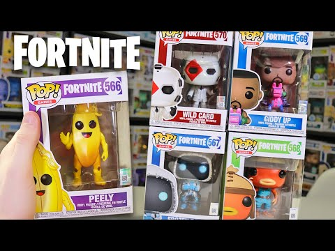 Fortnite Chapter 2 Funko Pop Hunting!