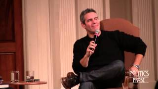 Andy Cohen in conversation with Wolf Blitzer