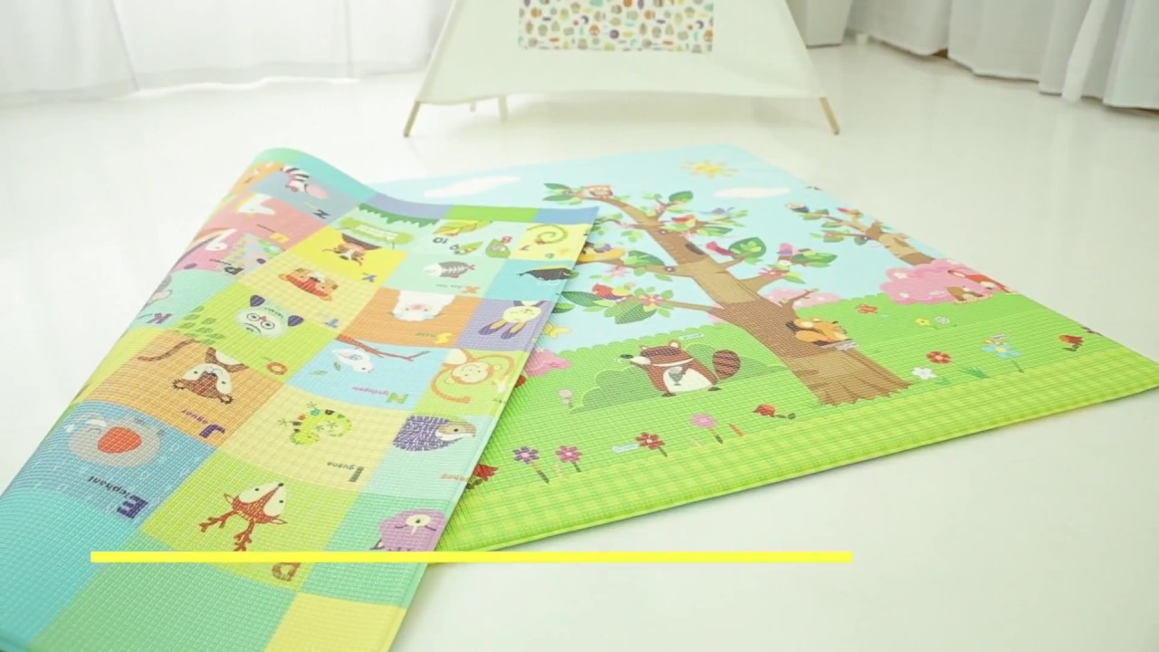 BABY CARE Baby Play mat - YouTube
