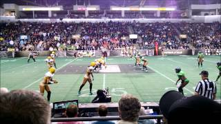 Full Game - Legends Football League 2013, Seattle Mist vs. Green Bay Chill, April 06 2013 [HD]