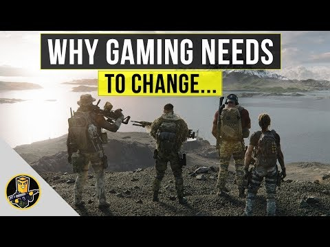 Ghost Recon Breakpoint and Why Gaming Needs to Change...