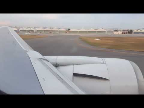 (Engine Roar!) Asiana Airlines B767-300 Flight OZ8981 Take-off at Gimpo Airport