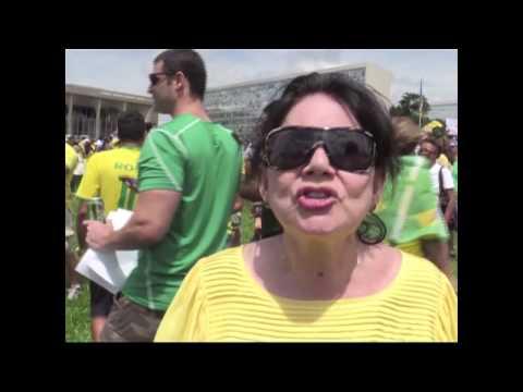 Século News 16/03/2015 - Protesto Brasília