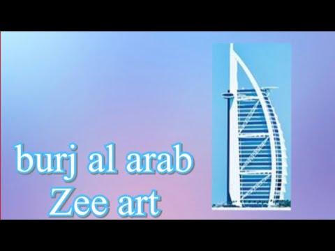 Zee's art BURJ AL ARAB DUBAI || jingzee vlogs