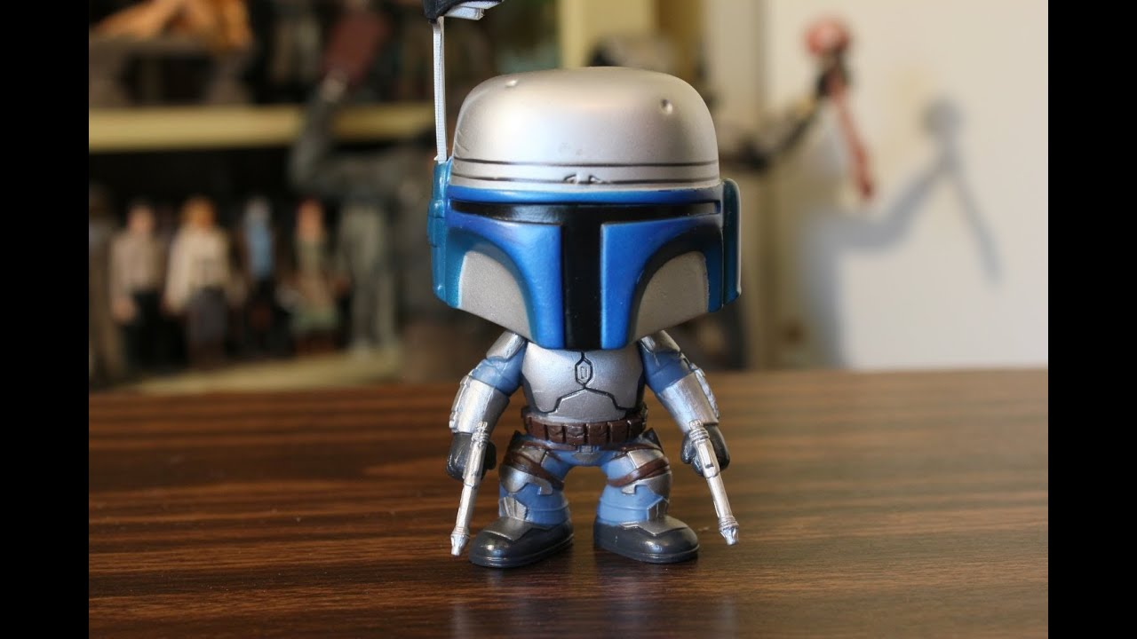 Jango Fett Star Wars Funko Pop Review Youtube