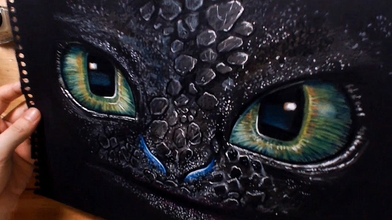 speed drawing toothless how to train your dragon httyd youtube