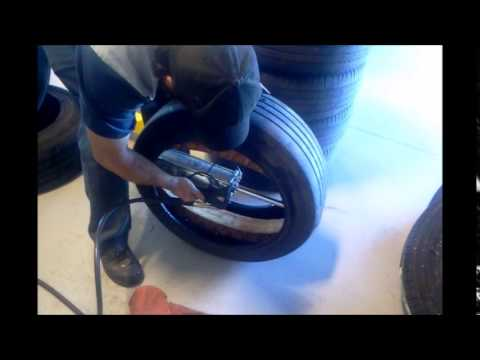 run flat michelin pax tire and ring install youtube. Black Bedroom Furniture Sets. Home Design Ideas