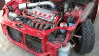 видео Техно-тест Honda Civic. Установка GReddy TI-C, K&N, узел Вlох, DC Sports 4-2-1