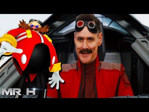 FIRST LOOK Jim Carrey As DR ROBOTNIK For Sonic The Hedgehog Movie
