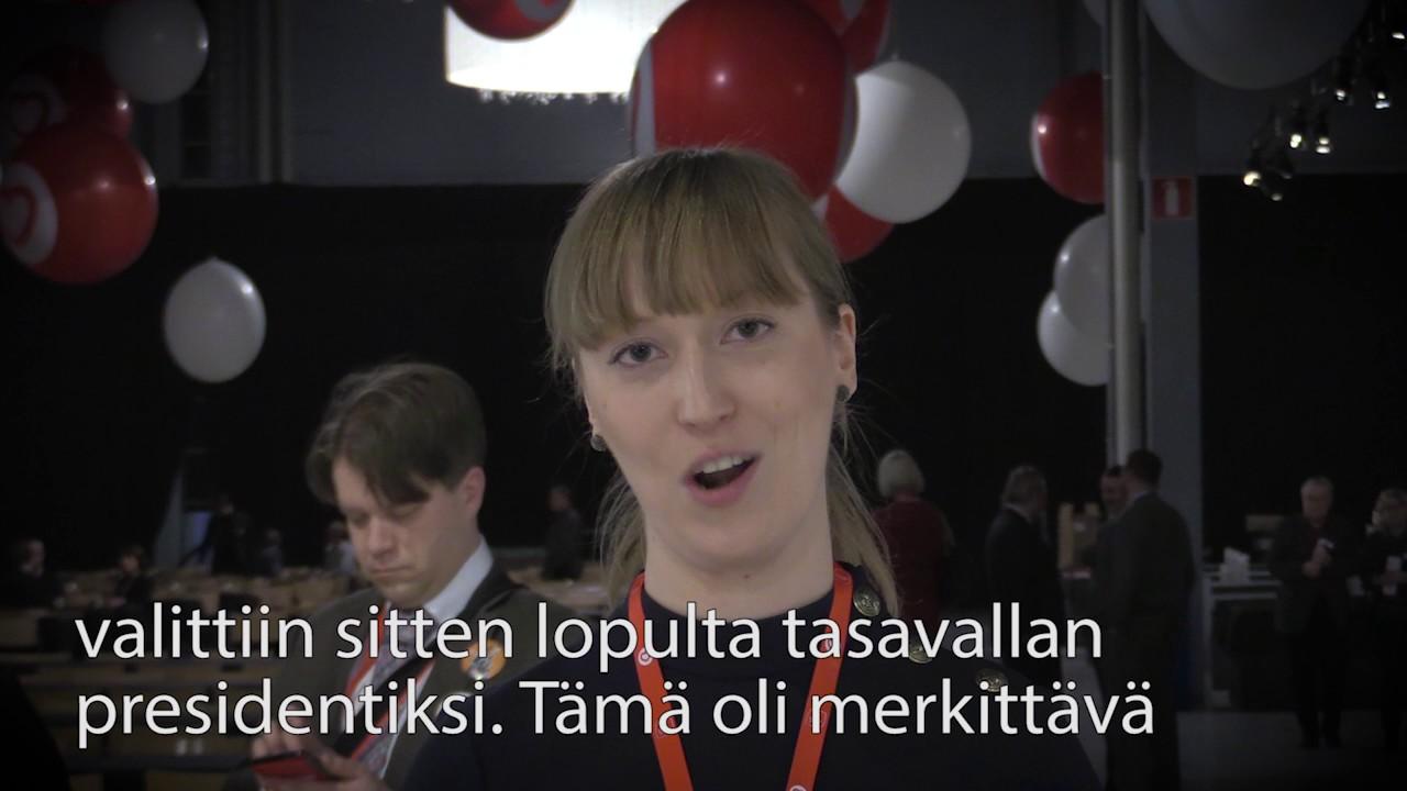Sosialidemokratiaa minuutissa: Eveliina Heinäluoma - YouTube
