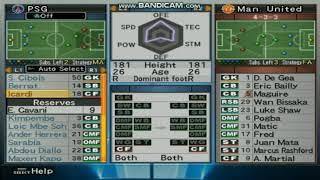 FORMASI PENYERANGAN/ATTACK PSG TERBAIK WINNING ELEVEN PS2