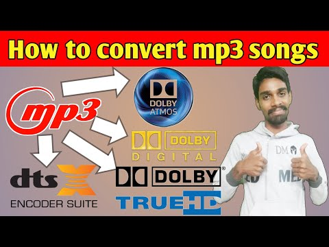 How To Convert  Songs To Dolby Atmos🎧🎵🔊
