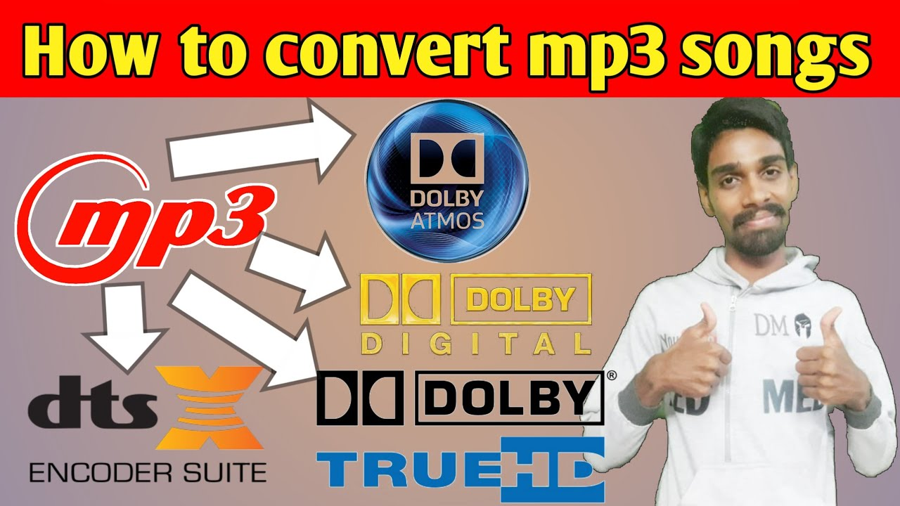 How to convert mp3 songs to dolby atmos🎧🎵🔊