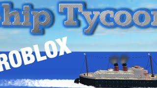 Nave da crociera Tycoon Roblox