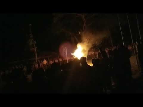 Malam Api Unggun Jambore Mts.mfthl Huda Tawang Jambon
