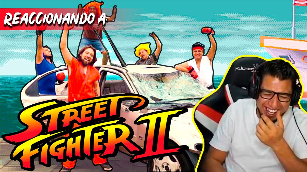 Fedelobo Reacciona a Street Fighter II en la Vida Real