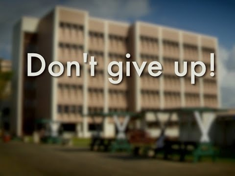 "Honolulu CC urges first-year students, ""Donʻt Give Up!"""