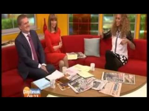 Busty Kate Garraway Back - Newsreader Busty Pokies 2