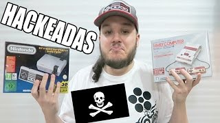 FAMICOM Y NES MINI HACKEADAS ¿Compensa el pirateo? Hablemos sobre piratería en consolas