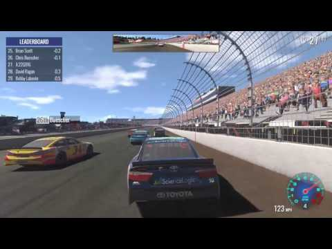 Let's Play NASCAR Heat Evolution S3 Race 19 New Hampshire 301