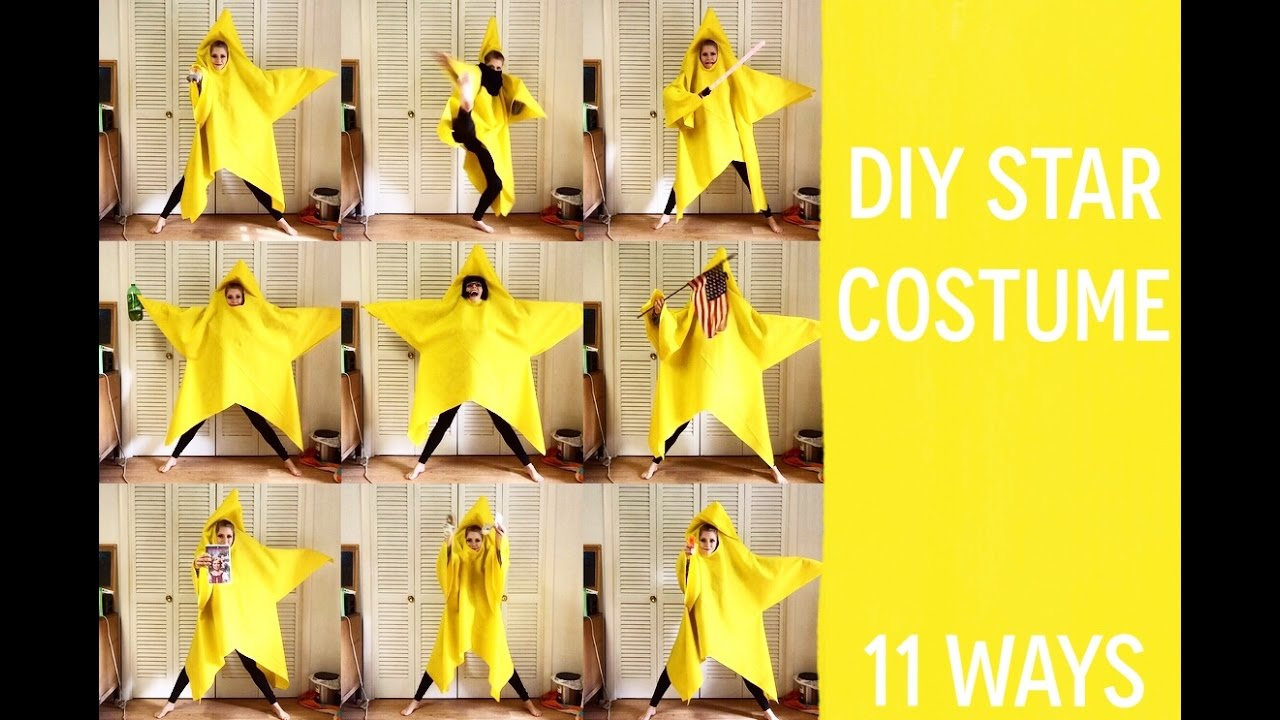 Diy star costume 11 ways youtube diy star costume 11 ways solutioingenieria Gallery