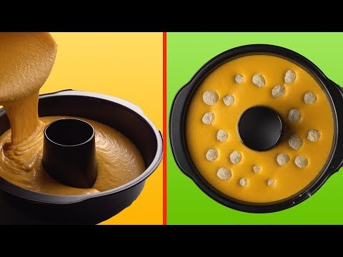 Carrots & Hidden Chocolate Balls Make A Mega Chocolate Cake!