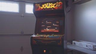 Joust Arcade Game Restoration, Part 1