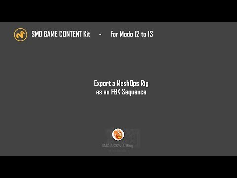 SMO GAME CONTENT KIT - Update 1 99 - /6 July 2019\ - for