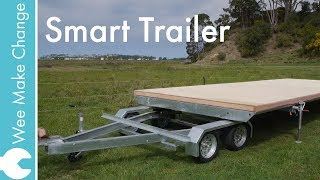 Smart Tiny House Trailer Overview