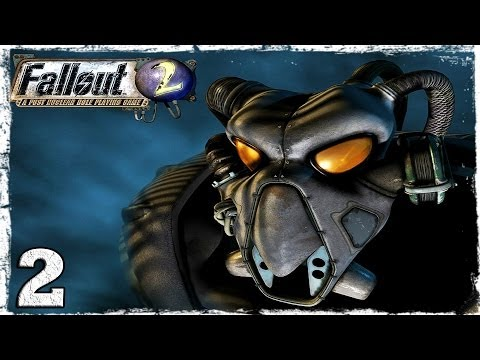 Смотреть прохождение игры Fallout 2. Серия 2 - Собака, цветы, гекконы и свинокрысы.