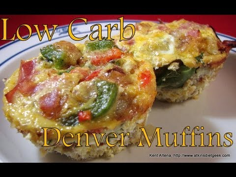 Atkins Diet Recipes Low Carb Denver Muffins If