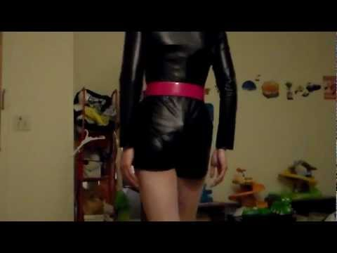 crossdresser in leather. from YouTube · Duration:  5 minutes 18 seconds