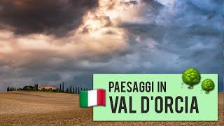 Errori idioti fotografando in Val D'Orcia (Toscana)