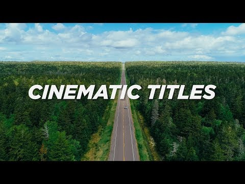 5 EASY Ways To Make STYLISH TITLES